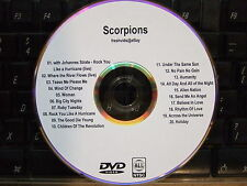 SCORPIONS - THE COMPLETE MUSIC VIDEO DVD COLLECTION ROCK YOU LIKE A HURRICANE