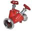De distribución Storz B-cc bomberos barrera válvula 2-especializada válvula de paso Alu