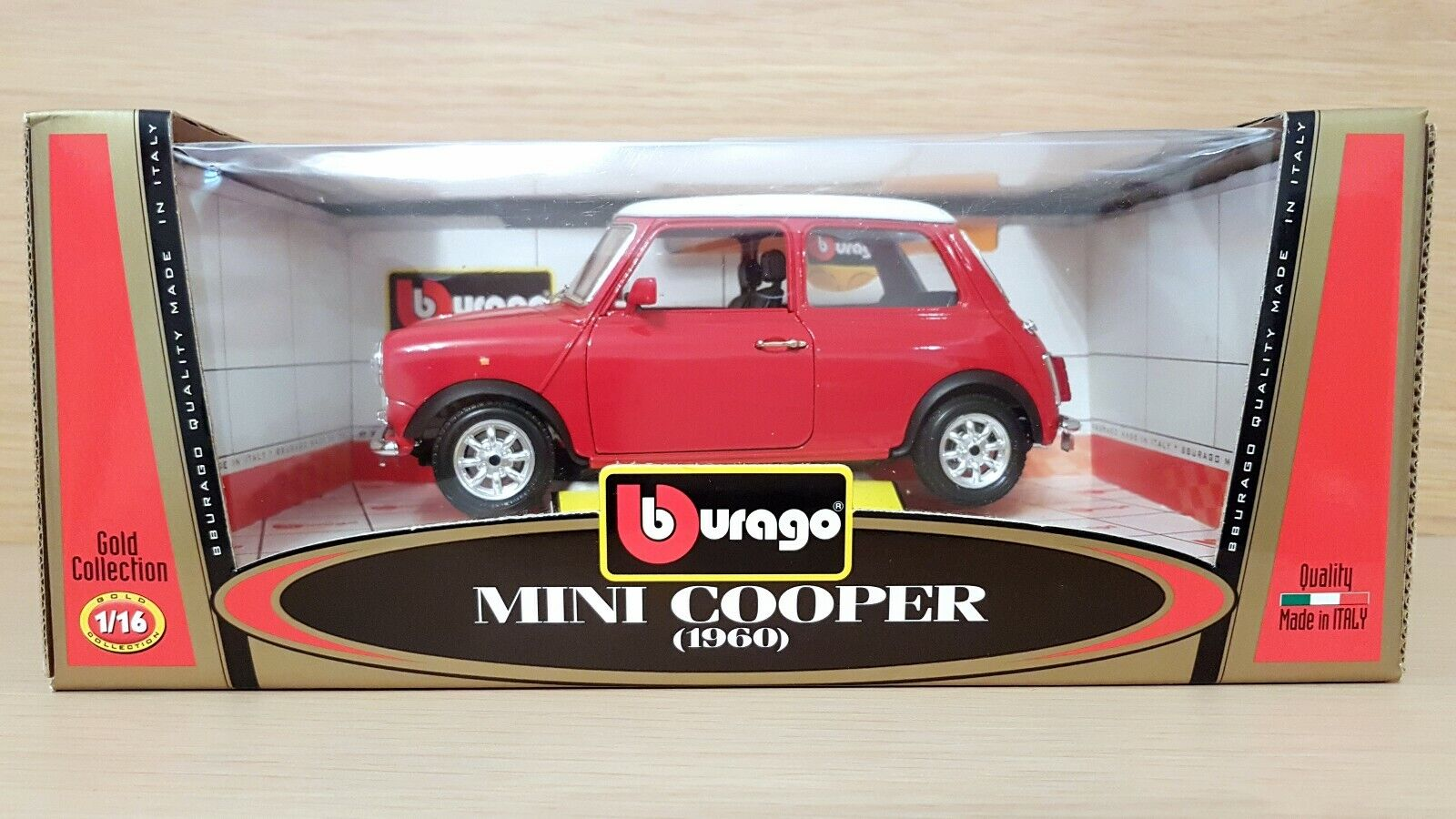 Mini Cooper (1960) scala 1 16 Bburago Burago Made in