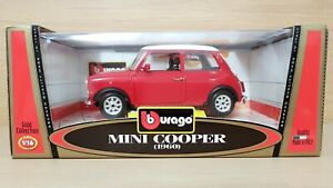 Mini Cooper (1960) Echelle 1/16 Bburago Burago Fabriqué En Italie