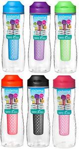 Sistema Tritan Infuser Trinkflasche Frucht Einsatz Sieb