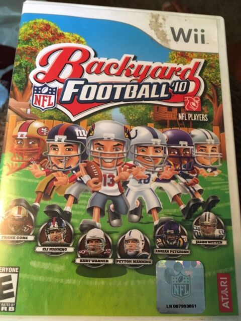Backyard Football '10 (Nintendo Wii, 2009) FAST SHIPPING ...