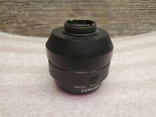 Leica Photar 80mm f/4.5 Leitz Fixed Focus Microscope Photo Lens Screw Mount