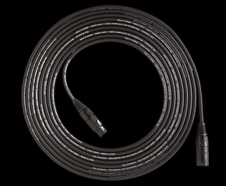 Lava Fountain 15' XLR Microphone Cable FREE SHIP