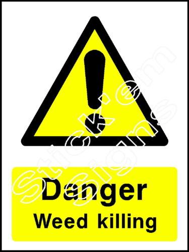 Pericolo Sfoltisci uccidere-coun0038 adesivi e insegne