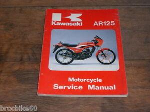 Manuel Revue Technique D Atelier Kawasaki Ar 125 1983 -> Service Manual Ar125 7btjdj1u-08004502-748381013