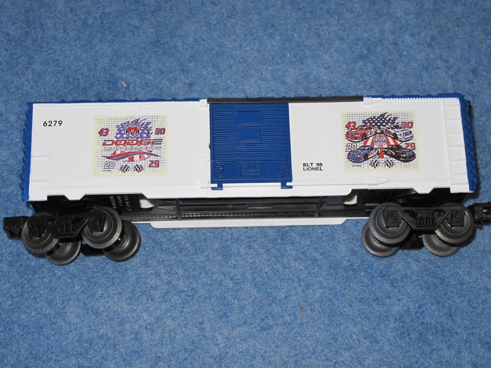 1994 Lionel 6-16279 Dodge Motorsports Coche De Caja Chrysler L1503