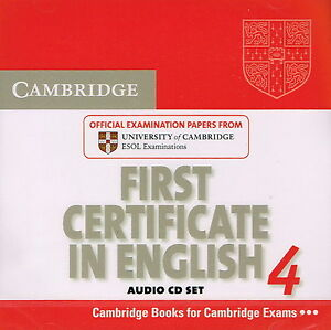 Image Is Loading FCE Cambridge FIRST CERTIFICATE IN ENGLISH 4 Audio