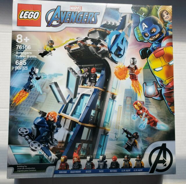 LEGO Avengers Tower Battle Super Heroes (76166) for sale ...