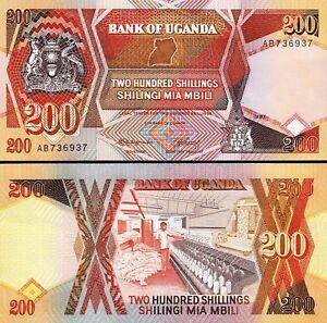 1979 UGANDA 5 SHILLINGS P-10 UNCIRCULATED SHIPPING!! FREE U.S