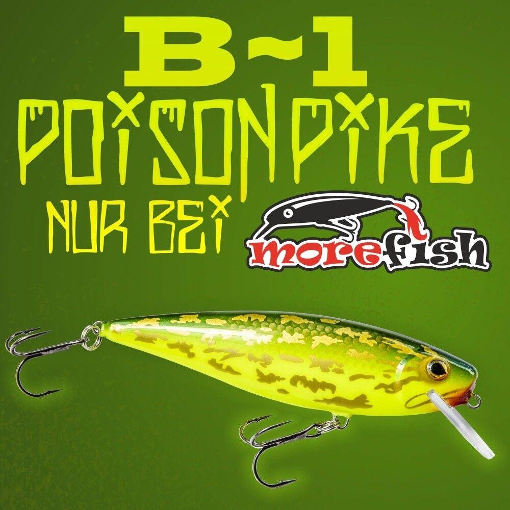 Hybrida B-1 - Poison Pike - gold Edition - UV - 13cm - 35gr - alle Modelle
