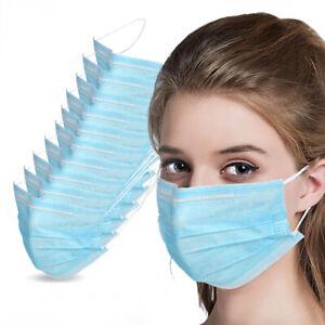 50 PC Face Mask Mouth & Nose Protector Respirator Masks...