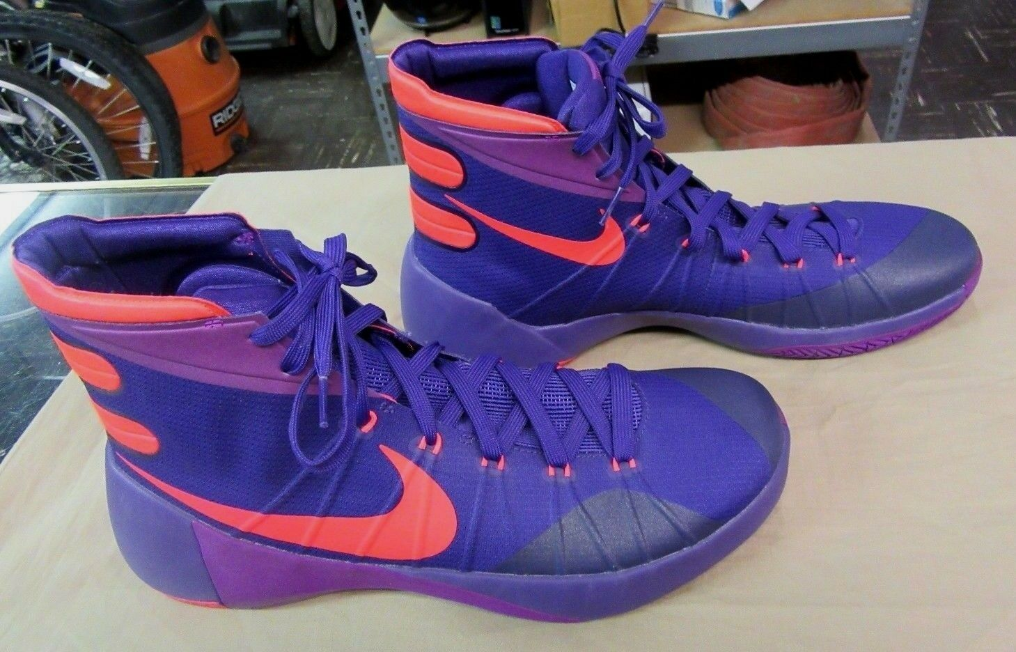 Molto gentile hyperdunk nike 749561 565 2015 scarpe da basket 13 viola / orange numero 13 basket 8fd950