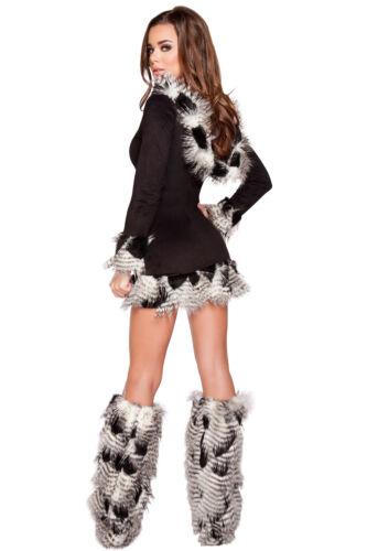 Eskimo Kostüm Mantel Deluxe Native Inuit 4 Größen Fasching Karneval Fasnacht