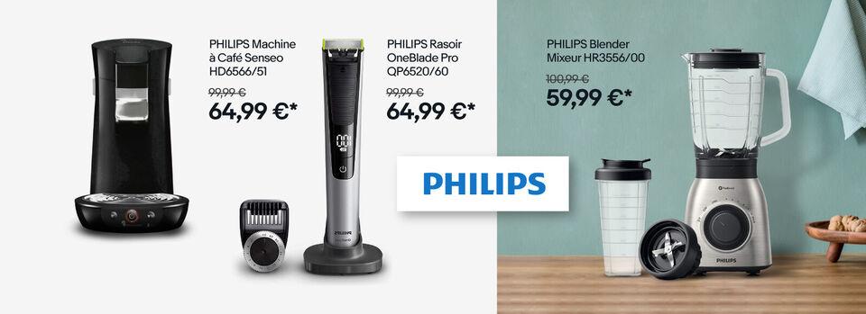 J'en profite - Noël approche : tout Philips jusqu'à -50 %