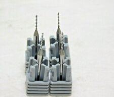 "Harvey Tool Carbide Miniature Drill .0380/"" Dia 1-1//2/""OAL 130º PT 2FL Qty 4 20280"