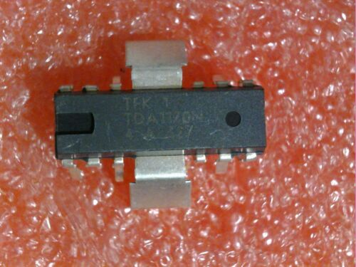 2 PCSTELEFUNKEN TDA1170N LOW NOISE TV VERT DEFLECTION SYSTEM INTEGRATED CIRCUITS