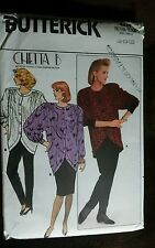 Butterick PATTERN Misses CHETTA top pant skirt Pattern 4227 Size 8 10 12 UNCUT