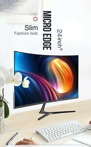 NEW-NEC-PC-Computer-Set-24-034-curved-Display-Intel-i5-4-GB-RAM-256-GB-SSD