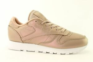 db2f3b439273 Image is loading Reebok-Classic-Leather-Pearlized-BD4308-Womens-Trainers -All-