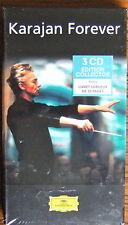 KARAJAN Forever 3 CD Box Set (2003) DG NEW & SEALED French Edition in Long Box