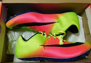 a762b108bb4c Mens Nike Zoom Ja Fly 3 OC RIO Spikes Running Shoes Volt Pink 882032 ...