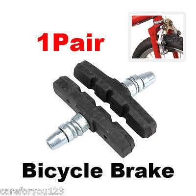 New Pair Bicycle Bike Brake Holder Pads Shoes Blocks 01