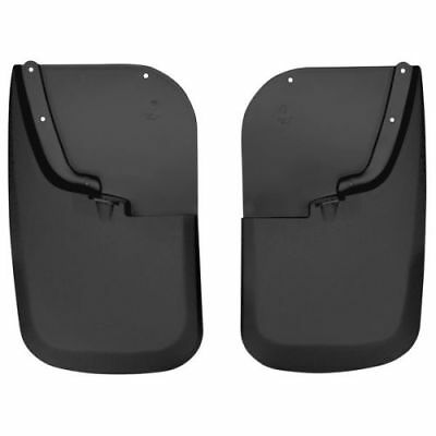 Husky Liners 58461 Front Mud Flaps Black For Ford 2017 F-250//F-350 Super Duty