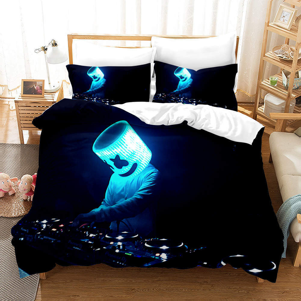 Lampshade Glows 3D Printing Duvet Quilt Doona Covers Pillow Case Bedding Sets