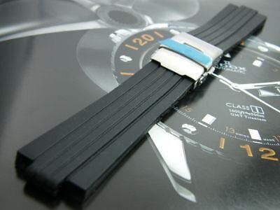 Hq 21mm 8mm Rubber Watch Band 8 21 Mm Strap For Oris F1 Tt1 Boy Size Midsize Ebay