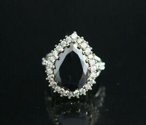Turkish-Handmade-Sterling-Silver-925-Jewelry-Onyx-Ladies-Ring-7-8-9