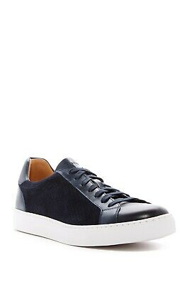 Magnanni Jose Navy Blue Leather