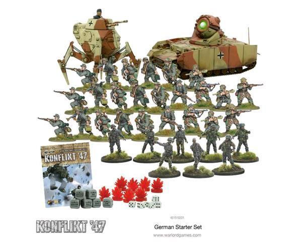 Konflikt '47: Weird World War II German Army Starter Set, Konflikt '47