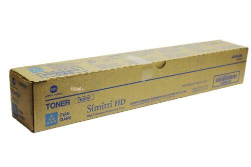 A33K430 TN321C Genuine Konica Minolta Cyan Toner for  Bizhub C364 C284 C224