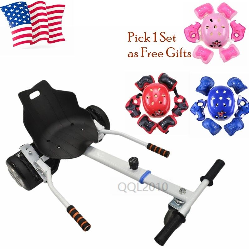 Self Balance Scooter Adjustable Holder Attachment Go Kart Seat for 6.5 -10  US