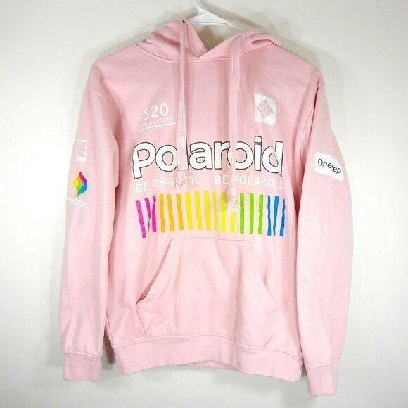 Polaroid Pink Graphic Hoodie - image 1