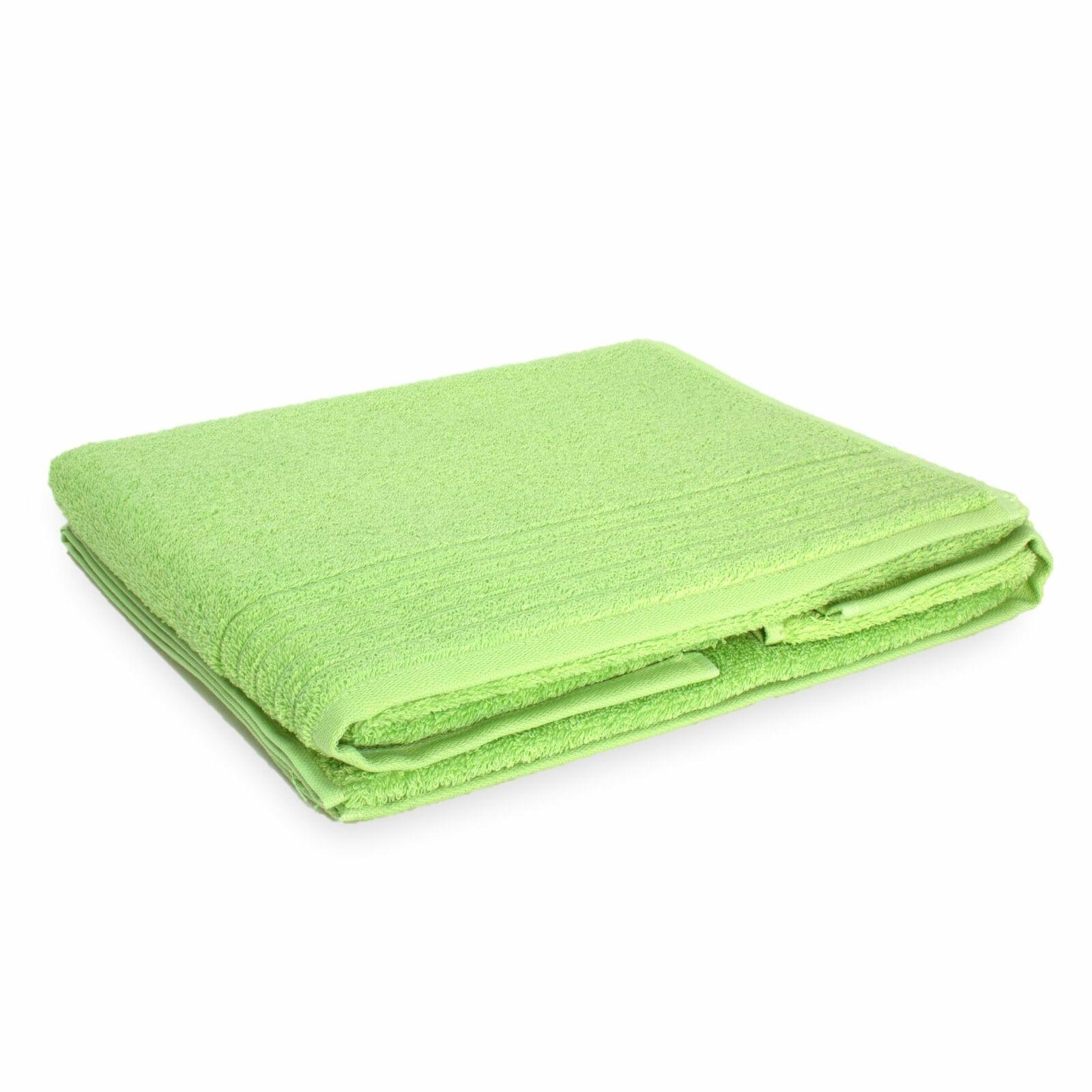 Vossen Premium Exclusive - Set of 2 Hand Towels - Apple Green - 50 x 100cm