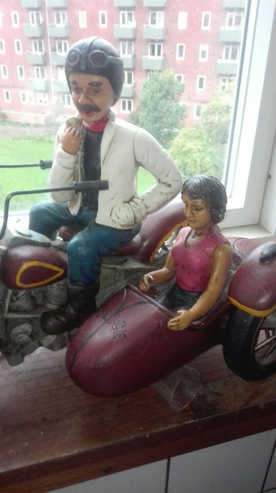 Moyorcykel med par, 1970