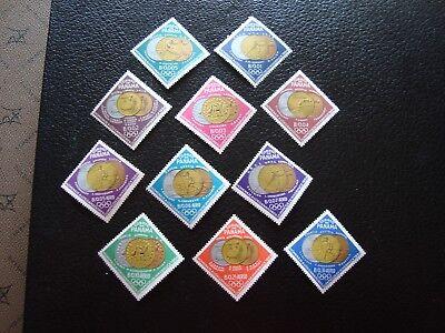 402 A 406 Aerien 345 350 N Briefmarke Konstruktiv Panama -stempel Yvert Und Tellier Nr c5