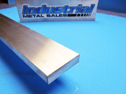 "1//2/"" x 2/"" 6061 T6511 Aluminum Flat Bar x 12/""-Long--/>.500/"" x 2/"" 6061 MILL STOCK"
