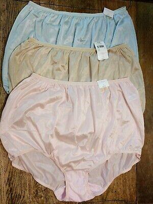 Fundamentals Womens 3-Pr Fuller Cut Elastic Leg Cotton