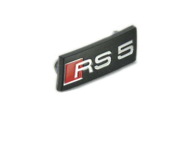 For Audi A5 RS5 2014-2018 steering wheel badge sticker logo Lenkrad inlet insert