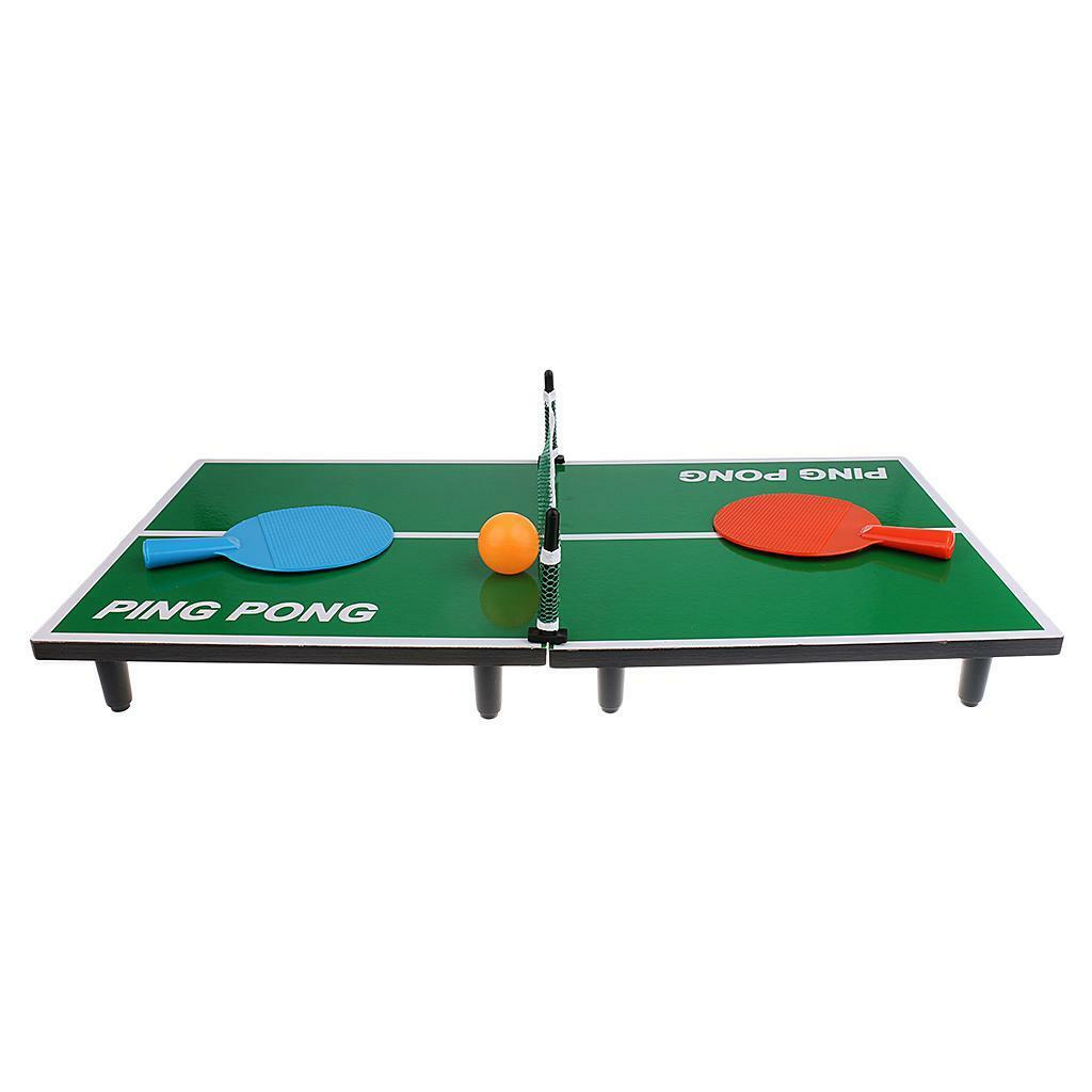Mini Desktop Table Tennis Game Toy Ping Pong Board Games for Kids Xmas Gift