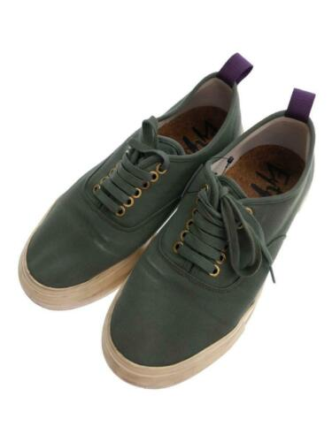 Eytys  42 Grn Deck Shoes Mother Canvas Green Size