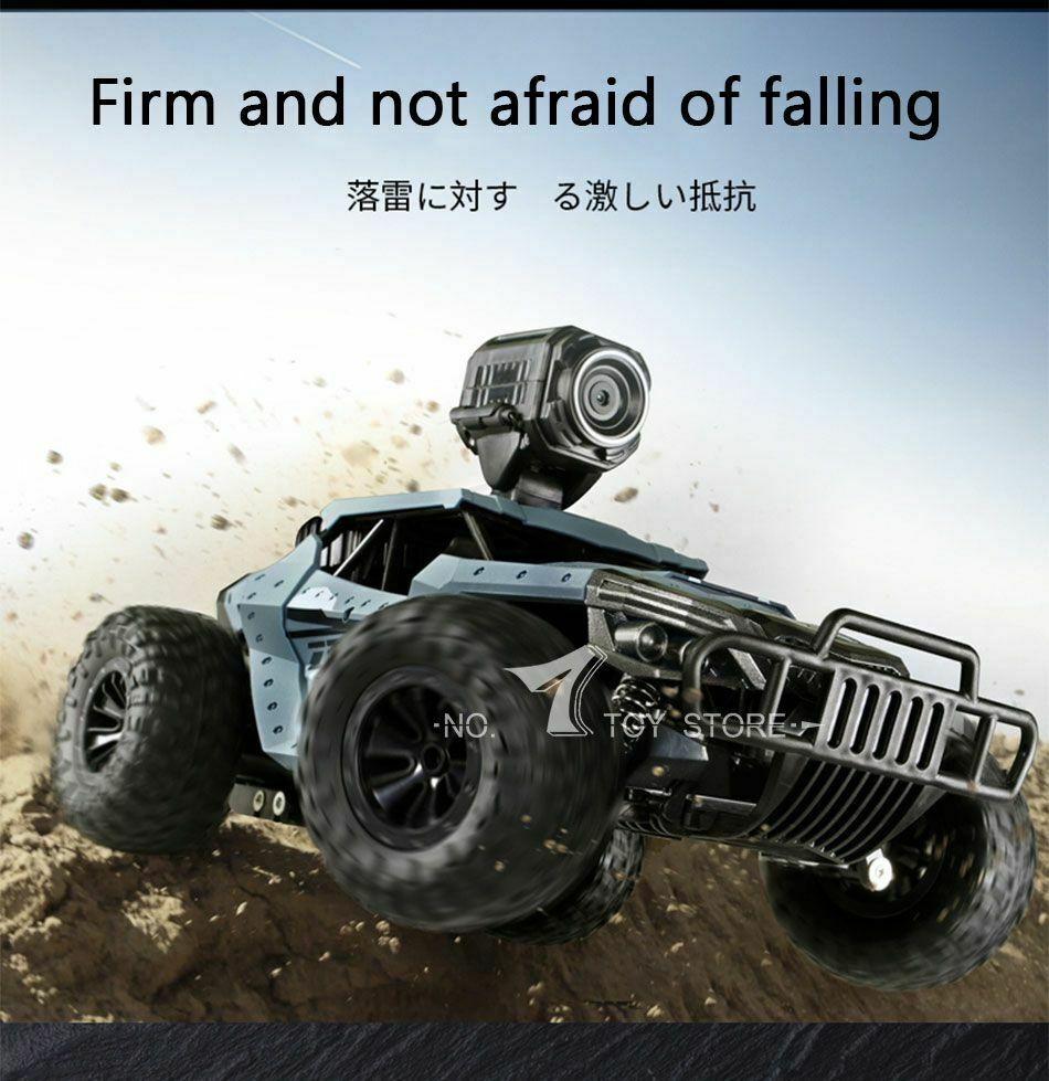 25KM H Electric High Speed Racing RC auto auto auto with WiFi FPV 720P telecamera HD 1 18 Off-R 3573fd