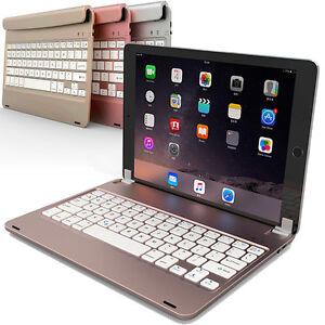 Per-Apple-Ipad-2017-pro-9-7-034-Air-2-senza-Fili-BT-Custodia-Tastiera