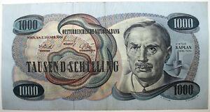 1000 Schilling Viktor Kaplan - Wien, Österreich - 1000 Schilling Viktor Kaplan - Wien, Österreich