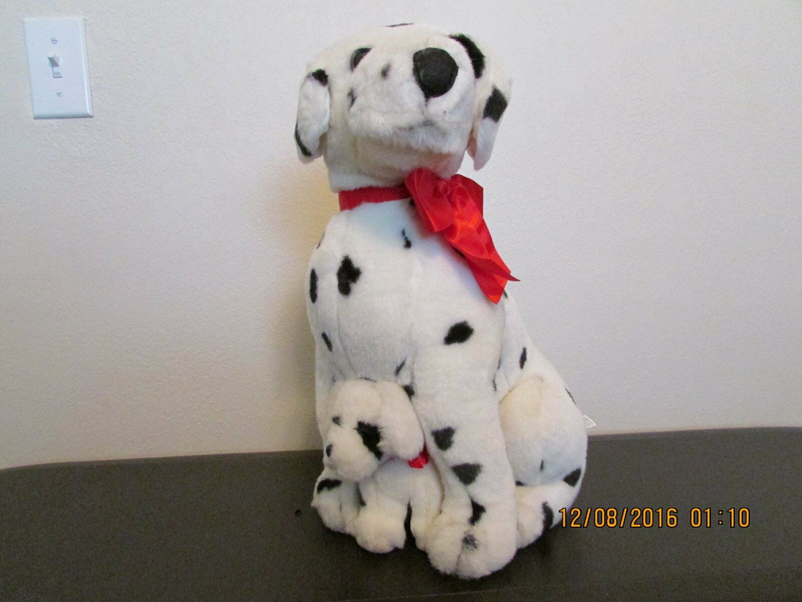ADULT & PUP   DALMATIAN   Large Plush Stuffed Dogs