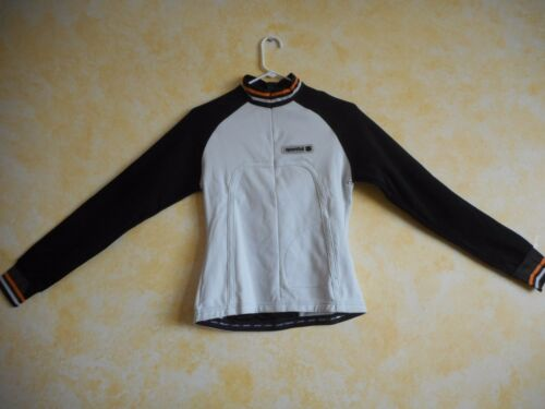 Sportful Women/'s Long Sleeve Midweight Cycling Jersey  White//Blk $120