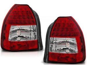 Details About Honda Civic Hb 3d 1995 1996 1997 1998 1999 2000 2001 Ldho02 Tail Rear Lights Led